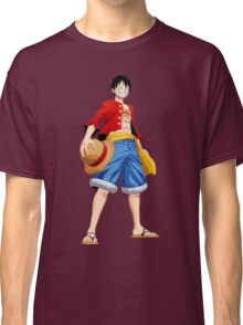 ONE PIECE - CAPTAIN LUFFY Classic T-Shirt