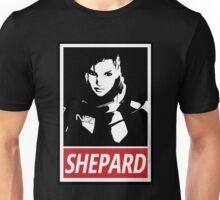 Femshep (Mass Effect 3): Obey Parody Unisex T-Shirt