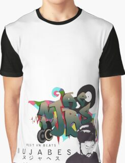 Nujabes Graffiti Custom Design Graphic T-Shirt