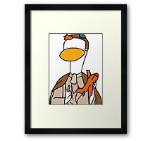 Launchpad Is My Co-Pilot Framed Print