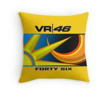 The Doctor 46 Throw Pillow