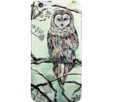 Woodland Owl iPhone Case/Skin