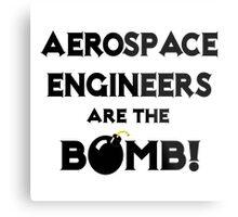 Aerospace Engineers Are The Bomb! Metal Print