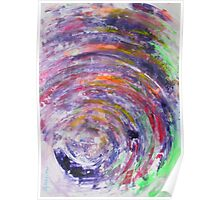 It is an ill wind that blows nobody good - Original Wall Modern Abstract Art Painting Original mixed media Poster