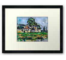 1888 - Paul Cezanne - Banks of the Marne Framed Print