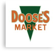 Doose's Market t-shirt/tote bag - Stars Hollow, Gilmore Girls, Lorelai, Rory Canvas Print
