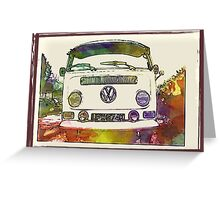 Vintage K reg  early bay Greeting Card