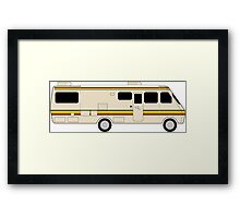 breaking bad rv Framed Print