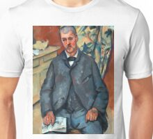 1889 - Paul Cezanne - Seated Man Unisex T-Shirt