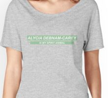 'Alycia Debnam-Carey Is My Spirit Animal' Women's Relaxed Fit T-Shirt