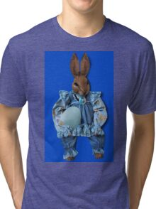 EASTER HAPPENINGS-SOME BUNNY LOVES YOU Tri-blend T-Shirt