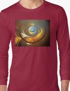Planetary Swirls Long Sleeve T-Shirt