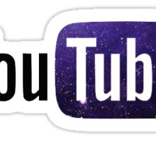 YouTube Logo Sticker