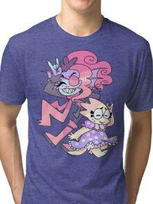 Undyne and Alphys Cute Tri-blend T-Shirt