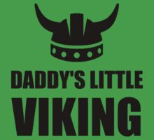 Daddy's Little Viking Baby Tee