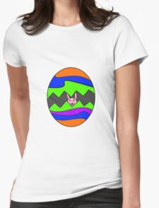 Easter Egg Womens Fitted T-Shirt