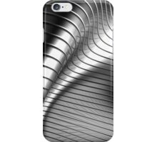 Curved Metal Apple Silver Gold,  iPhone Case/Skin