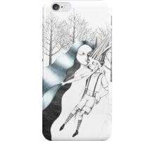 The Fairy with Turquoise Hair iPhone Case/Skin