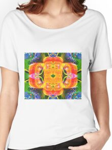 Tropical flowers Women's Relaxed Fit T-Shirt