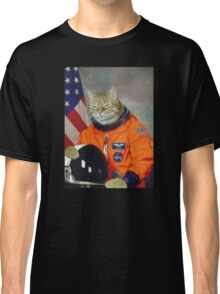 Astronaut Cat Kitten Funny Space Classic T-Shirt
