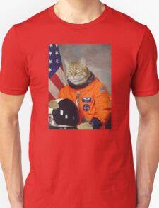 Astronaut Cat Kitten Funny Space Unisex T-Shirt