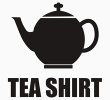 Tea Shirt One Piece - Short Sleeve