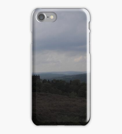 An Oncoming Summer Storm, Ilkley Moor iPhone Case/Skin