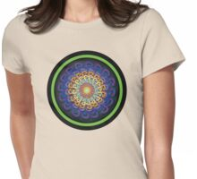 Infinite Path Martial Arts Mandala 5 Womens Fitted T-Shirt