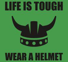 Viking Helmet One Piece - Short Sleeve