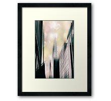 I Love New York Framed Print