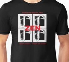 Infinite Path Martial Arts - Zen Panel 2 Unisex T-Shirt