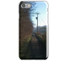 Country Paths, Alwoodley iPhone Case/Skin