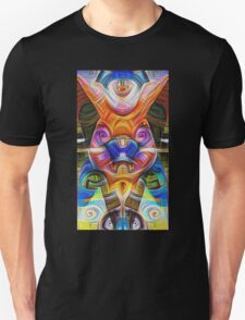 All seeing bunny Unisex T-Shirt