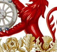 BRITISH RAILWAYS, SIGN, Trains, Train Spotters, Railwayana, Circular variant, 1956 logo Sticker