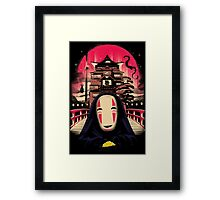 No Face Framed Print