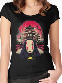 No Face Women's Fitted Scoop T-Shirt