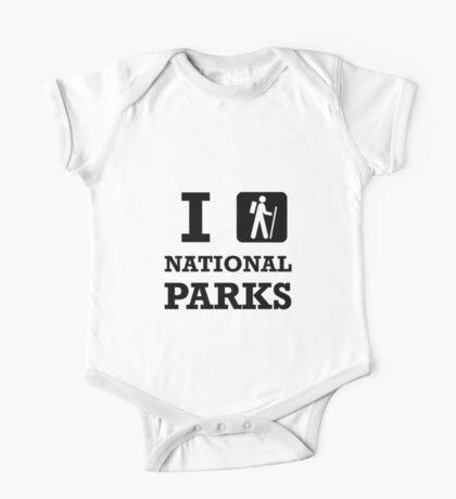 Hike National Parks One Piece - Short Sleeve