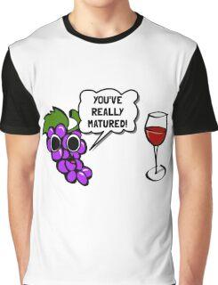 Matured Wine Graphic T-Shirt