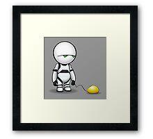 Marvin's Balloon Framed Print