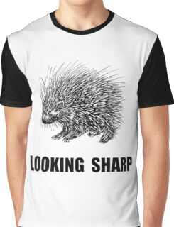 Sharp Porcupine Graphic T-Shirt