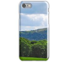 Summer Sun and Clouds Over Ilkley iPhone Case/Skin