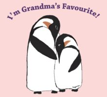 Grandma's Favourite Baby Penguin One Piece - Long Sleeve