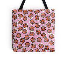 Flowers (pink) Tote Bag