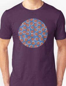 Flowers (blue) Unisex T-Shirt