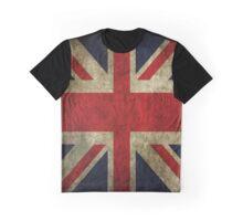 Vintage UK Flag Graphic T-Shirt