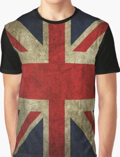 Vintage UK Flag Graphic T-Shirt