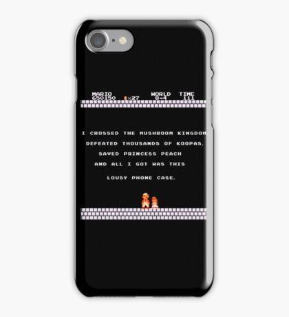 Lousy reward iPhone Case/Skin
