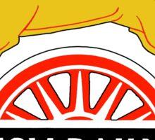 BRITISH RAILWAYS, BR, SIGN, First logo, British Railways, 'Cycling Lion' Sticker