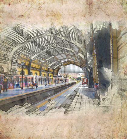 Train station Sticker