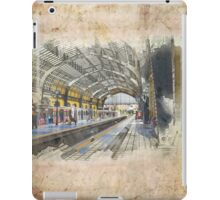 Train station iPad Case/Skin